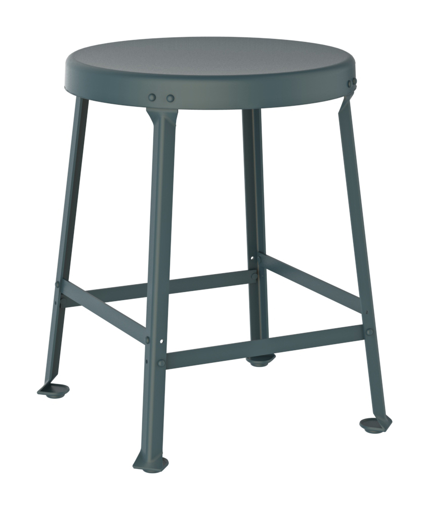 Industrial Bar Stool One Ton Chair Crow Works