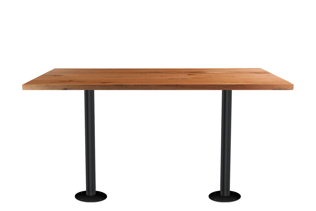 Double Fixed Post Table Rectangle GM LT 30 - Crow Works