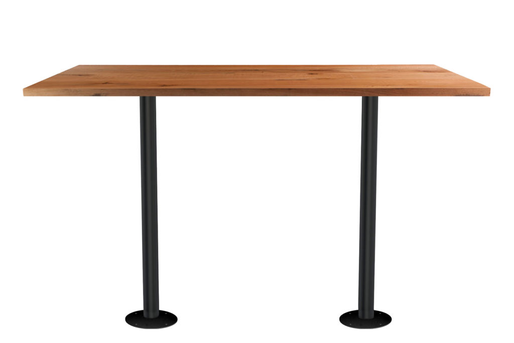Double Fixed Post Table Rectangle GM LT 36 - Crow Works