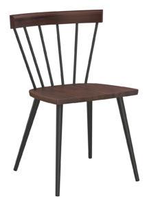 Compass Chair_Bourbon_Gunmetal_Perspective