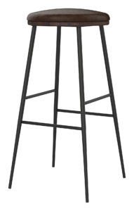Union Stool_30in_GUNMETAL-BOURBON-TOBACCO_Perspective
