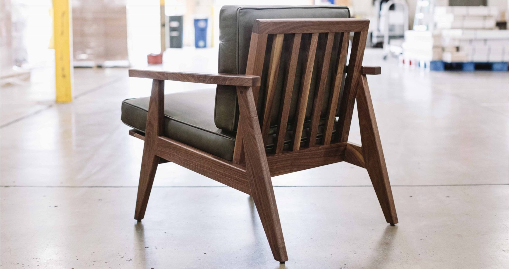 Custom Capabilities - Fully Custom Lounge Chair