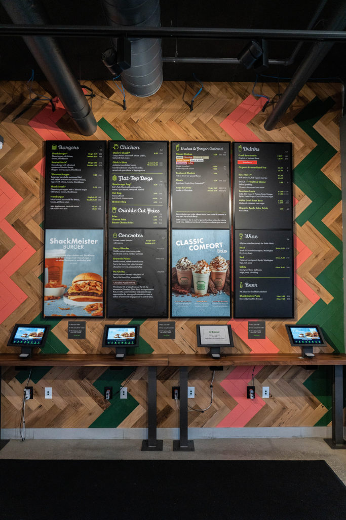 Shake Shack Installation