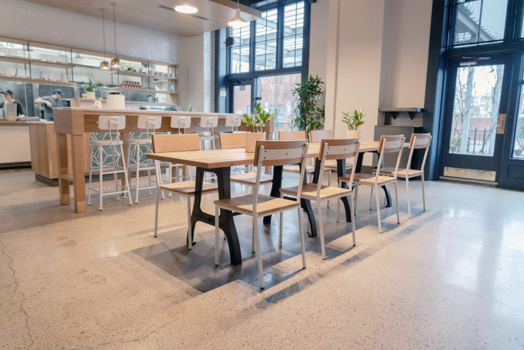 The Lox Bagel Shop Installation