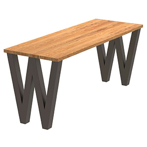 Wendys W Table - Crow Works