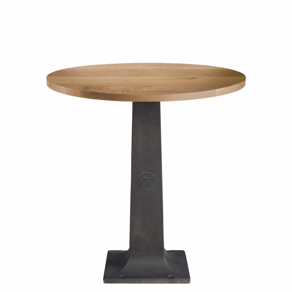 cw pedestal bar table LT GM - Crow Works