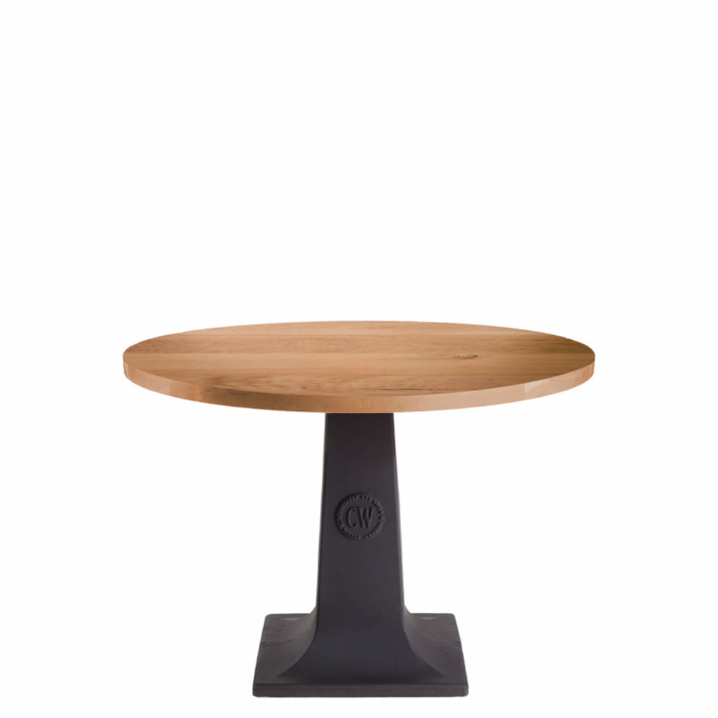 cw pedestal dining table LT GM - Crow Works