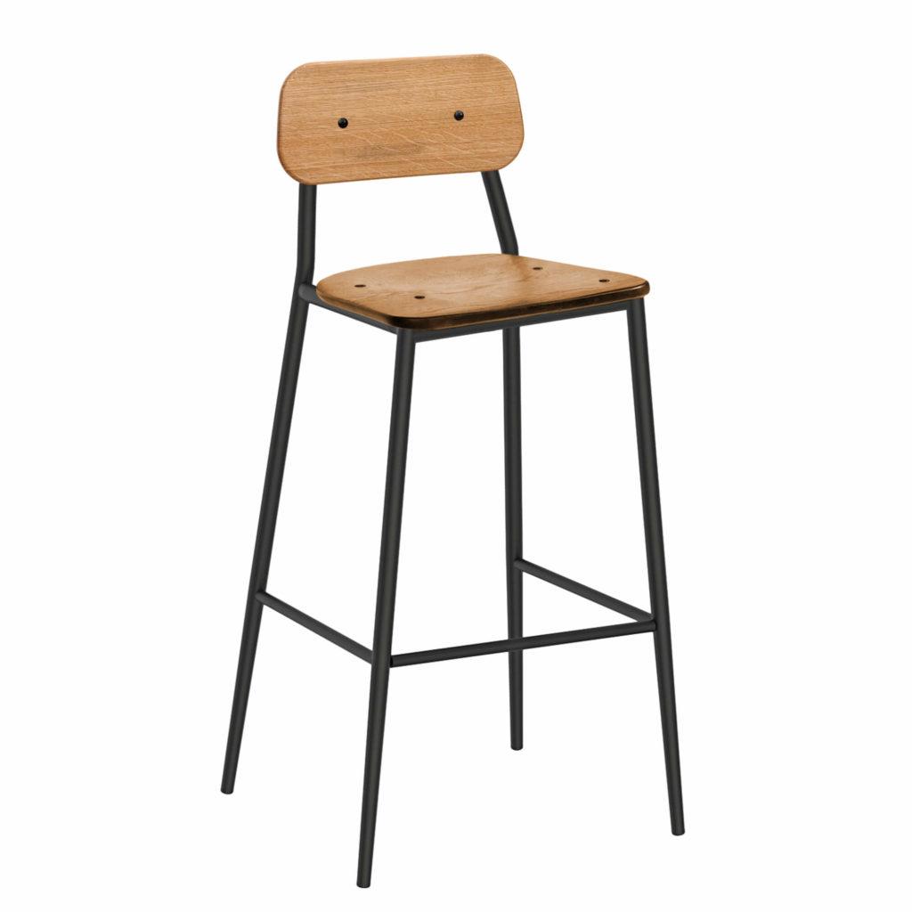 dalton stool 30 LT GM - Crow Works