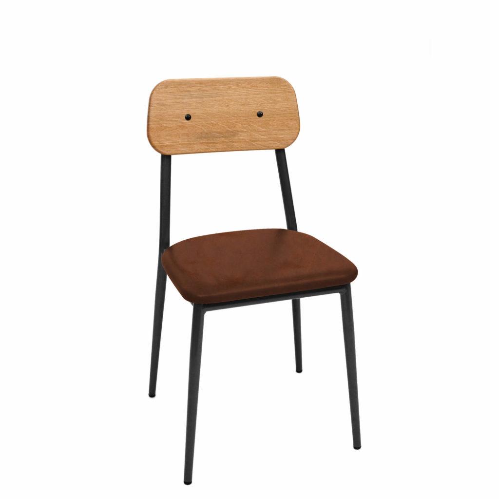 dalton stool upholstery 18 LT GM - Crow Works
