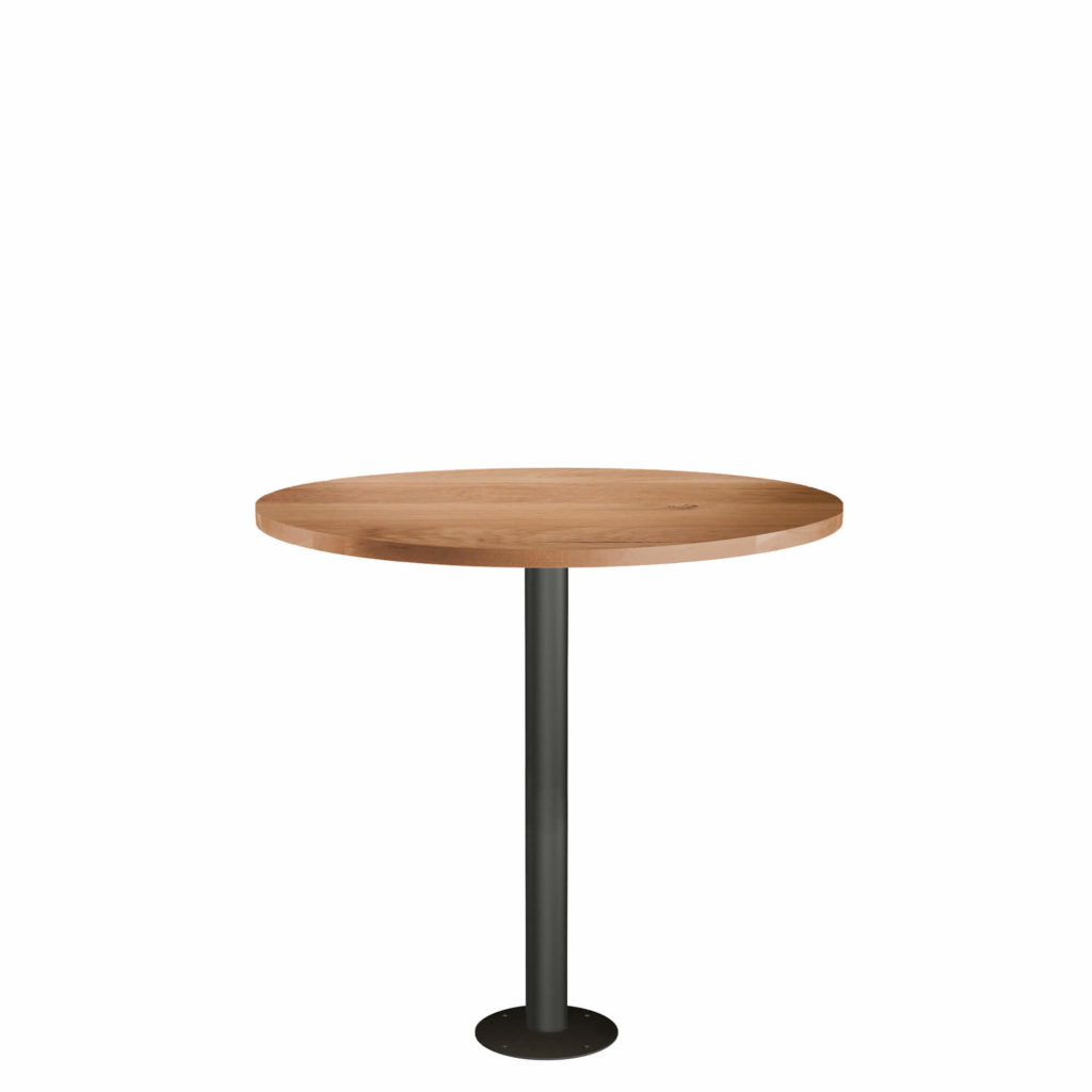 fixed post dining table LT GM - Crow Works