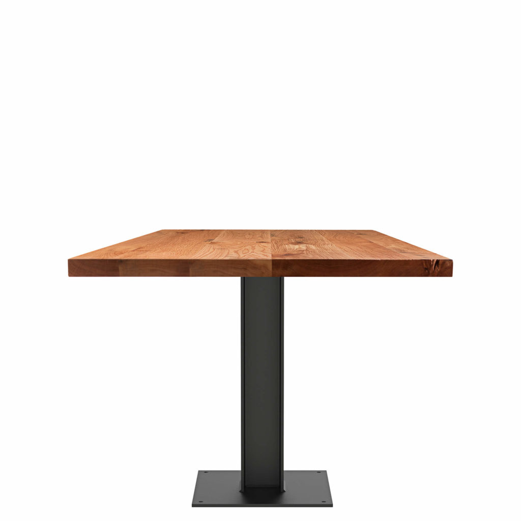 i beam dining table LT GM - Crow Works