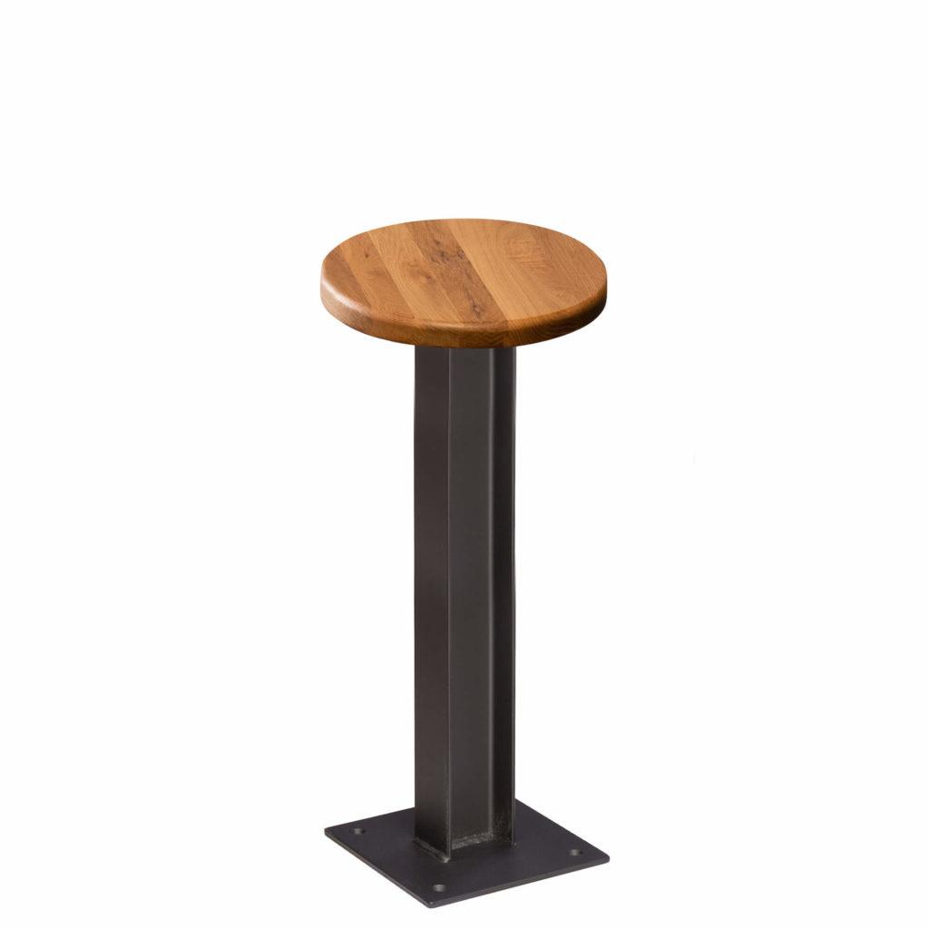 i beam stool 18 LT GM - Crow Works