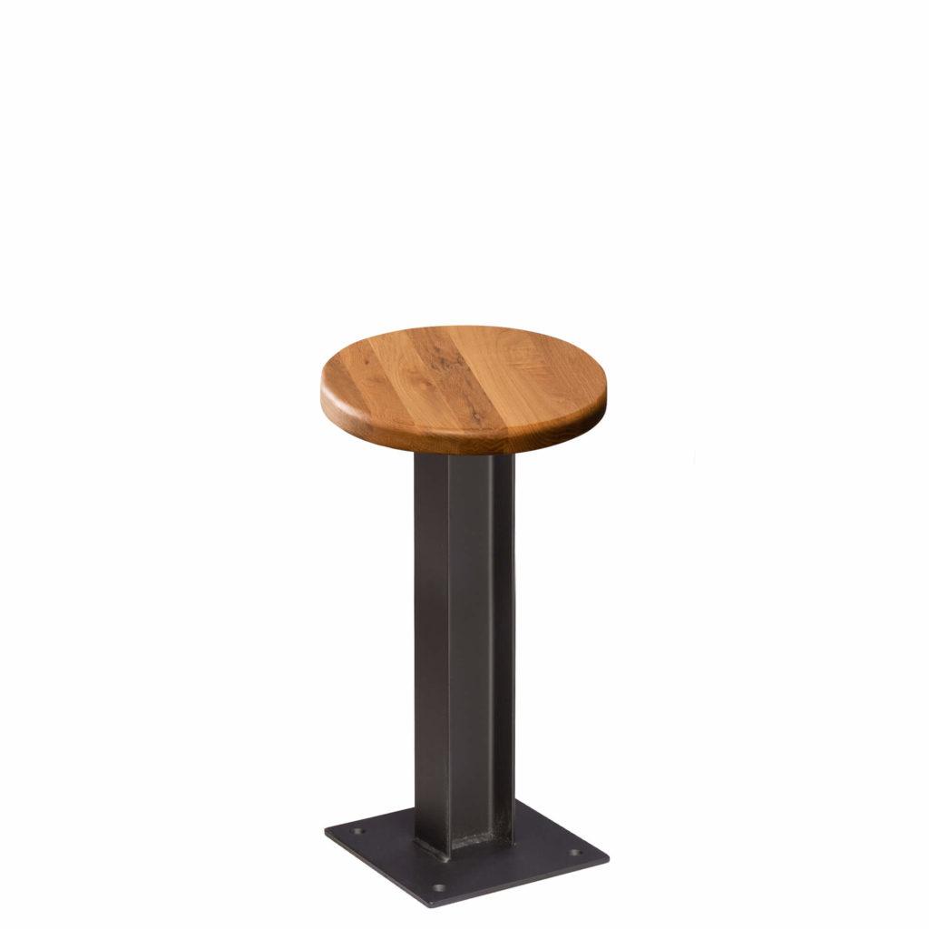 i beam stool 24 LT GM - Crow Works