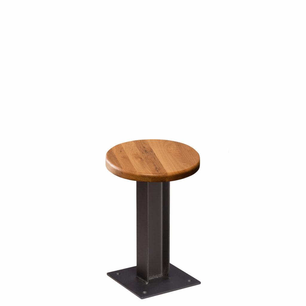 i beam stool 30 LT GM - Crow Works