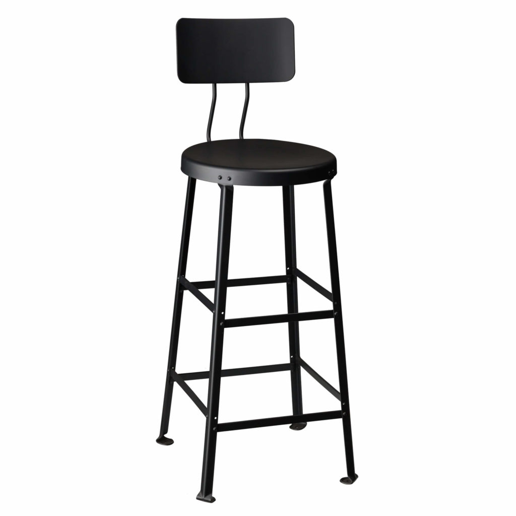 one ton stool back 30 GM - Crow Works