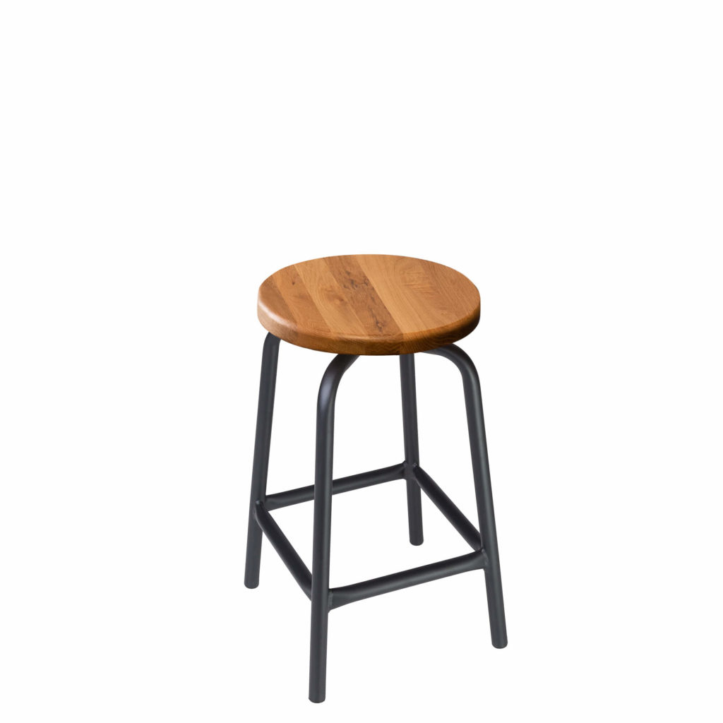 pub stool 24 LT GM - Crow Works