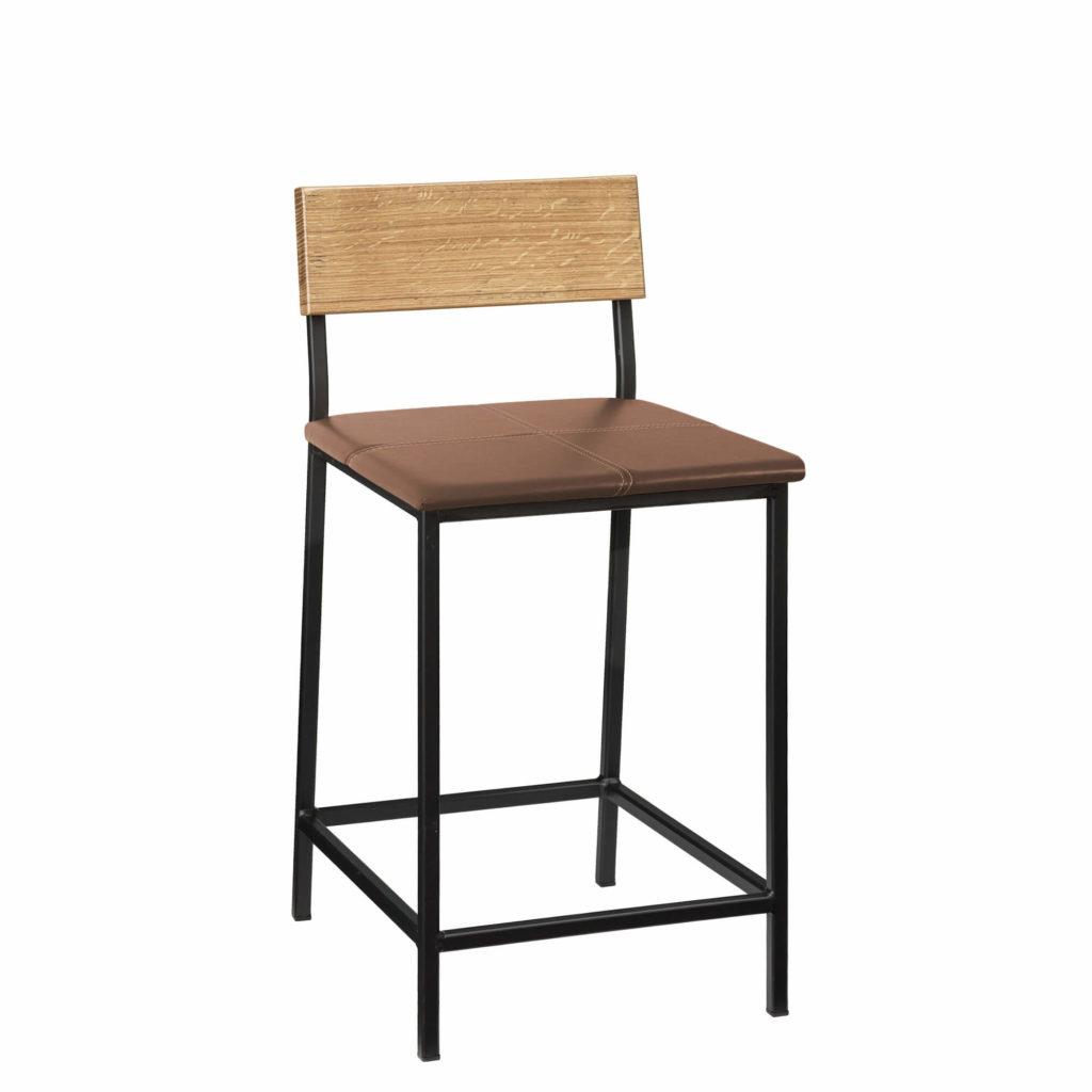 transit stool upholstery 24 LT GM - Crow Works