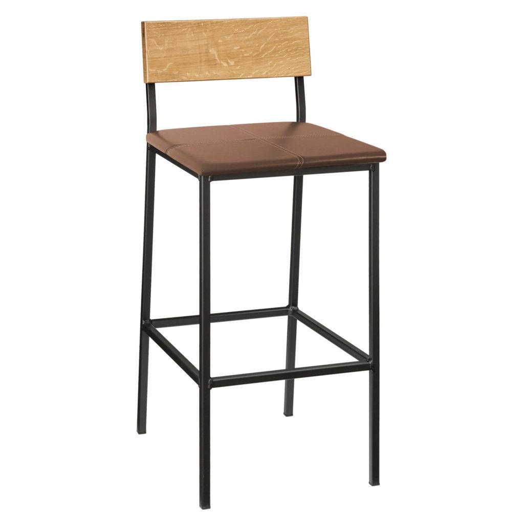 transit stool upholstery 30 LT GM - Crow Works