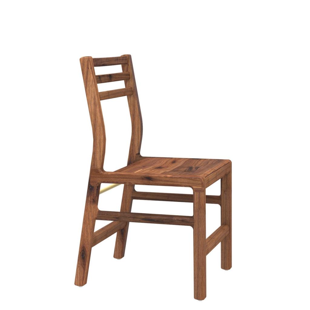 spencer chair 18 walnut - Crow Works
