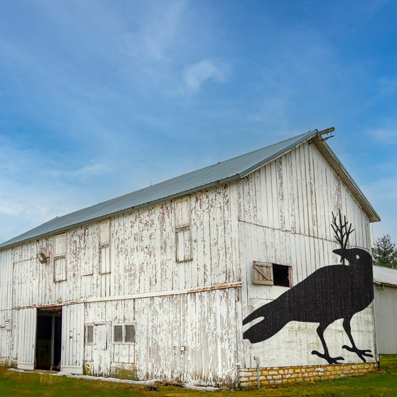 betty on barn - Crow Works